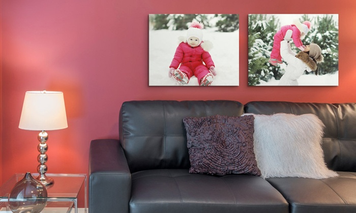 "Canvas On Demand: One or Two 16""x20"" Gallery-Wrapped Canvas Prints from Canvas On Demand (Up to 79% Off). Free Shipping."