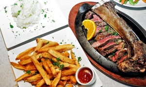 Talia's Steakhouse: Three-Course Dinner for Two or Four at Talia's Steakhouse (Up to 50% Off)