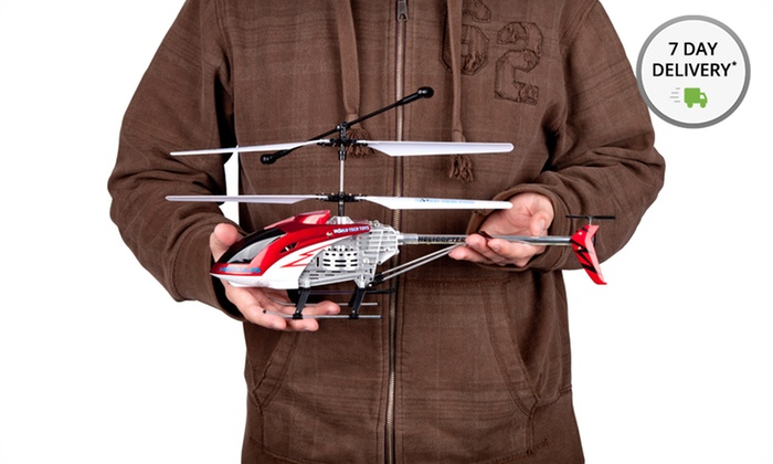 Hercules RC Helicopter: Hercules Unbreakable RC Helicopter in Blue, Red, or Silver. Free Shipping and Returns.