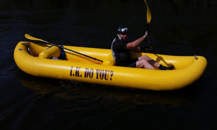 I.K. Do You? / Mariah Wilderness Expeditions - Mariah Wilderness Expeditions: Inflatable Kayak Tour on South Fork American River at I.K. Do You?/Mariah Wilderness Expeditions (Up to 51% Off)