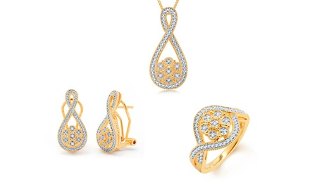 1/10 CTTW 3-Piece Diamond Jewelry Set