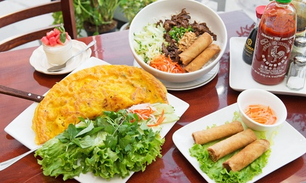 Vietnamese Meal for Two or Four at Little Vietnam Restaurant (45% Off)