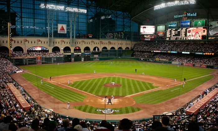 Houston Astros - Downtown: Behind-the-Scenes Tour at the Houston Astros' Minute Maid Park Two or Four (Up to Half Off)