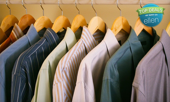 The Cleaners - Multiple Locations: $10 for $20 Worth of Dry-Cleaning Services at The Cleaners