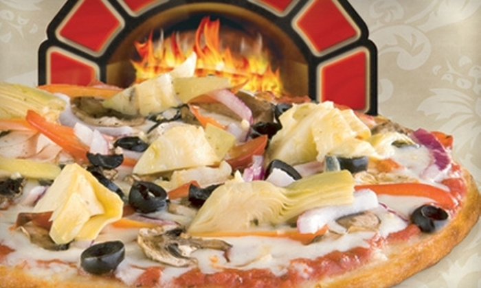 Red Brick Pizza - North Burnet: $10 for $20 Worth of Gourmet Pizza at Red Brick Pizza