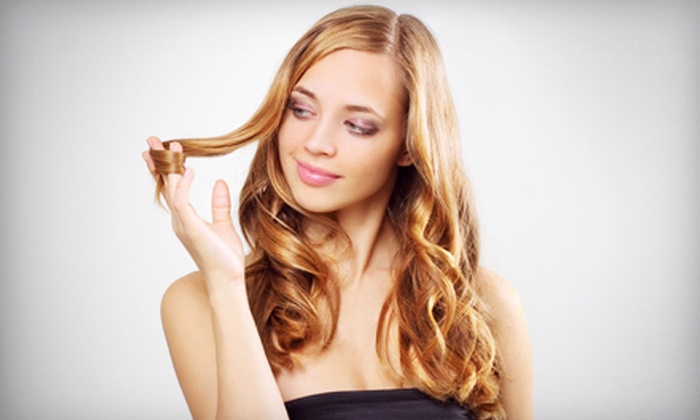 Teresa's Salon and Spa - Brighton: Hairstyling, a Partial Highlights, or a Full Highlights Package at Teresa's Salon and Spa in Brighton (Up to 71% Off)