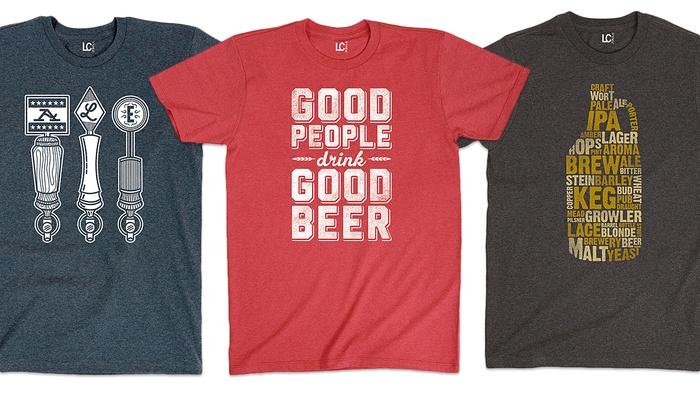 Men's Microbrew T-Shirts