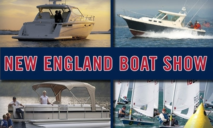 New England Boat Show - South Boston: $6 for One-Day Admission to the New England Boat Show ($13 Value)
