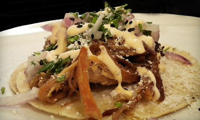 Shinobu Diego - Phoenix: 6 or 12 Tacos or $5 for $10 Worth of Japanese-Mexican Fusion Fare at Shinobu Diego