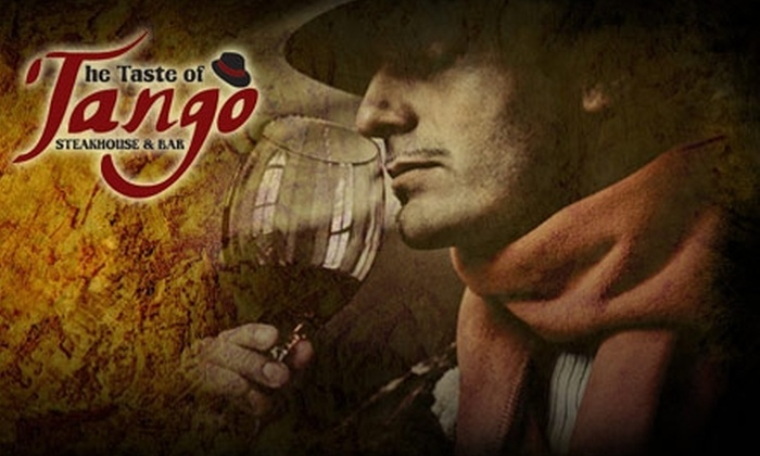 The Taste of Tango - Downtown Indianapolis: $25 for $50 Worth of Authentic Argentinean Fare at The Taste of Tango Steakhouse & Bar