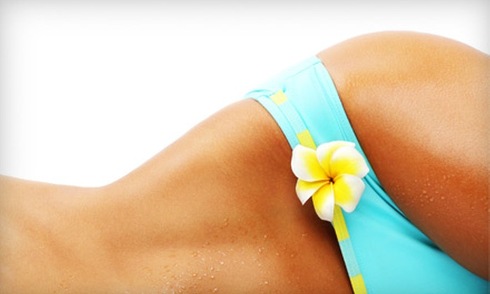 Rockstar Tan - Cypress: Three Spray Tans, Two Airbrush Tans, or Three Months of Unlimited UV Tanning at Rockstar Tan in Cypress