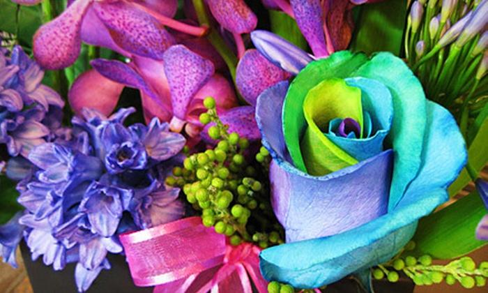 Lumsden Florist - Lumsden: Fresh-Cut Flowers and Arrangements at Lumsden Florist, etc (Half Off). Two Options Available.