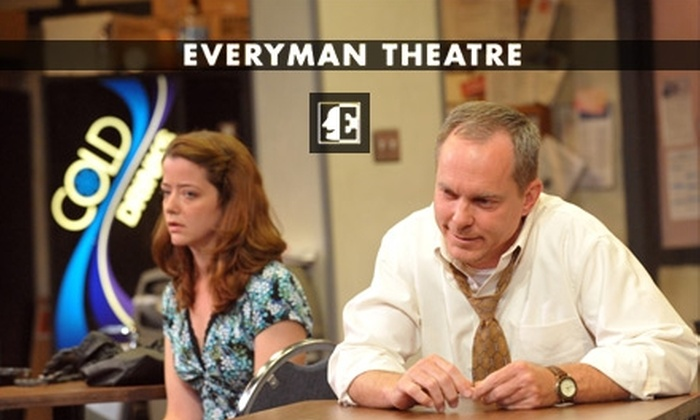 "Everyman Theatre - Charles North: $14 for a General-Admission Ticket to ""Blackbird"" at Everyman Theatre on Tuesday, June 1, at 7:30 p.m. ($28 Value)"