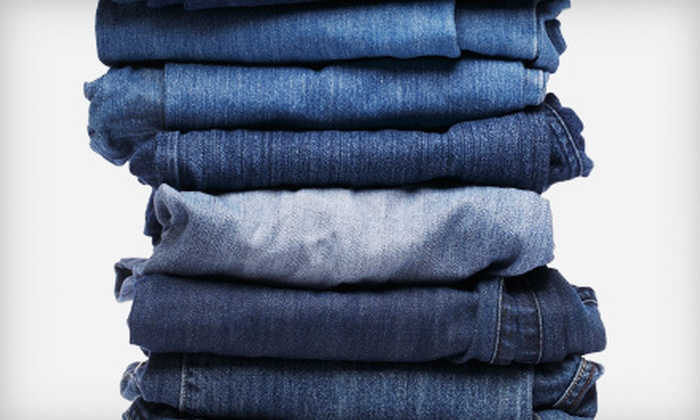 Denim Surgeon - Midtown Center: Denim Repairs and Alterations at Denim Surgeon (Up to 54% Off). Two Options Available.