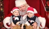 Apogee Studios - Multiple Locations: $15 for a Photo Shoot with Santa for Up to Three with Six Prints from Apogee Studios ($25 Value)