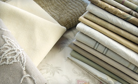 Off the Bolt and Digiacomo Upholstery: $30 Groupon for Fabric - Off the Bolt and Digiacomo Upholstery in Woodland Hills