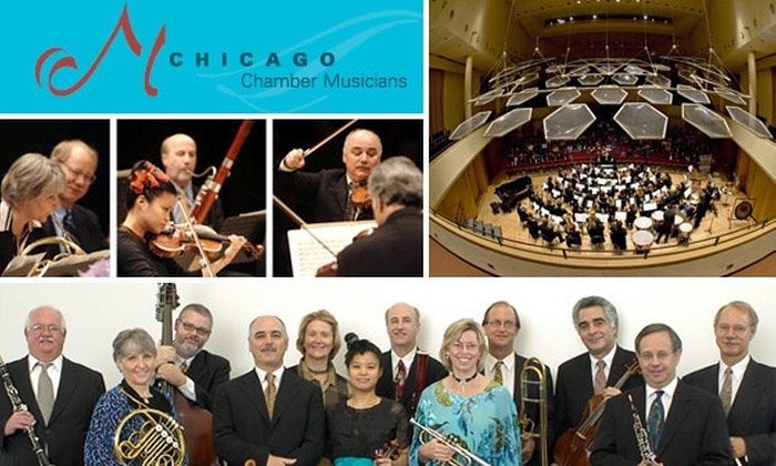 Chicago Chamber Musicians - Chicago: $15 Tickets to Chicago Chamber Musicians Concerts in Evanston. Buy Here for Tickets to '20th Century Giants' on Oct. 4. See Below for 'All Baroque' on Nov. 8.