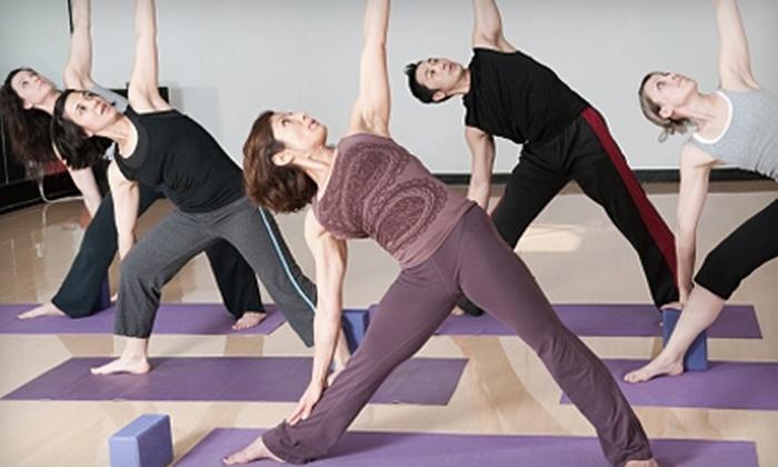 Yoga Center FBG - Fredericksburg: $59 for a 10-Class Package at Yoga Center FBG in Fredericksburg ($118 Value)