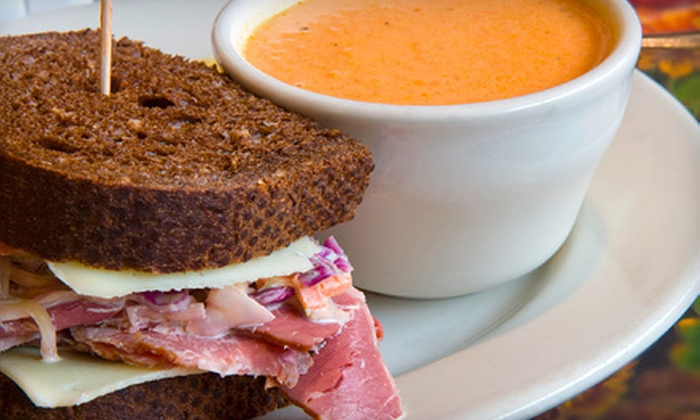 Lee Gribben's on Main - Emmaus: American Lunch or Dinner for Two or Four at Lee Gribben's on Main in Emmaus (Up to 59% Off)