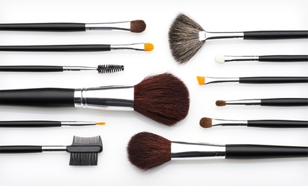 Beauté Basics 12-Piece Makeup-Brush Set