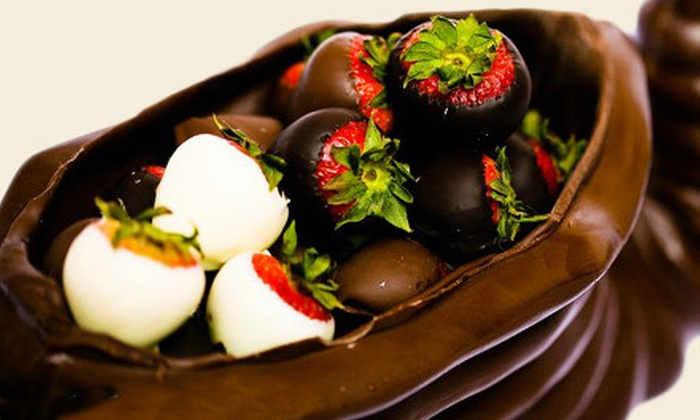 5th Avenue Chocolatiere - Midtown East: Chocolate-Covered-Strawberry Gift Box or $20 for $40 Worth of Gourmet Chocolate at 5th Avenue Chocolatiere