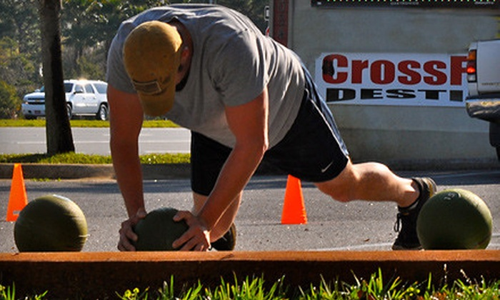 Crossfit Destin - Sunsail Plaza: $29 for One Month of Unlimited CrossFit Classes at CrossFit Destin ($200 Value)
