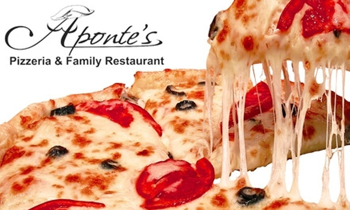 Aponte's Pizzeria - Mason: $10 for $25 Worth of Pizza and Drinks at Aponte's Pizzeria