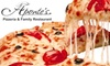 Aponte's Pizzeria and Family Restaurant - Mason: $10 for $25 Worth of Pizza and Drinks at Aponte's Pizzeria