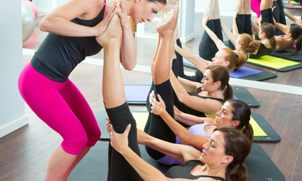 Five Yoga Barre Classes at Blush Studios (53% Off)