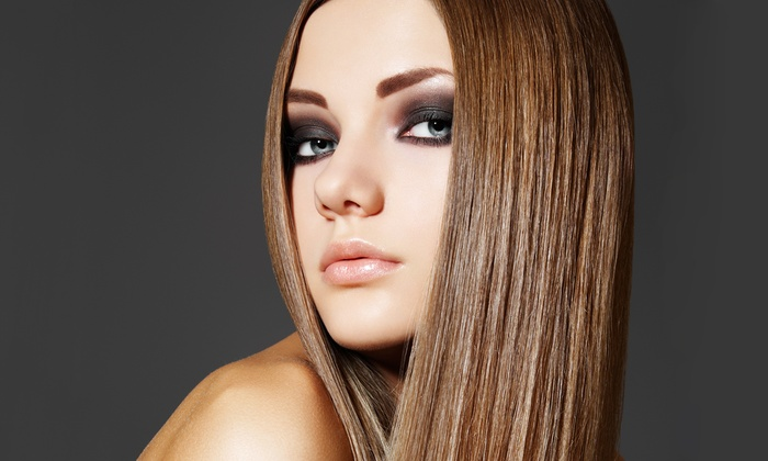 Stylocity 250 - Northeast Cobb: Silk Press Straightening Treatment with Optional Hair Trim and Condition at Stylocity 250 (Up to 53% Off)