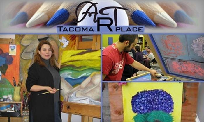 Tacoma Art Place - New Tacoma: Family or Individual One-Year Membership to Tacoma Art Place (Up to $100 Value)