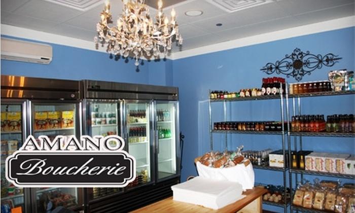 Amano Boucherie - Elmhurst: $10 for $20 Worth of Gourmet Groceries at Amano Boucherie in Elmhurst