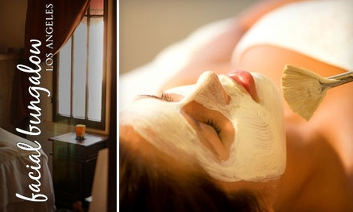 Facial Bungalow - West Hollywood: $49 for a Platinum Facial at Facial Bungalow in West Hollywood