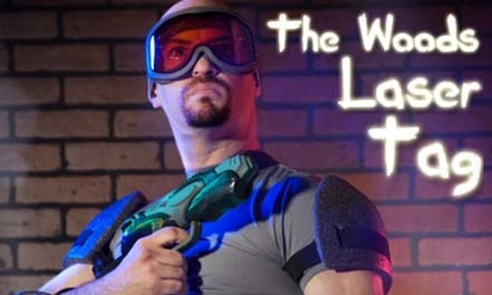 The Woods Laser Tag - Ocoee: $14 for an Unlimited Play Laser Tag Package at The Woods Laser Tag ($29.95 Value)