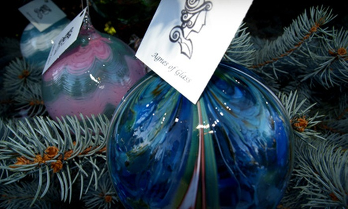 Agnes of Glass - Clayton: $65 for an Introductory Glass-Blowing Class at Agnes of Glass ($130 Value)