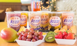 Jumbo Jumbo Cafe: Asian Food and Bubble Tea at Jumbo Jumbo Cafe (40% Off).
