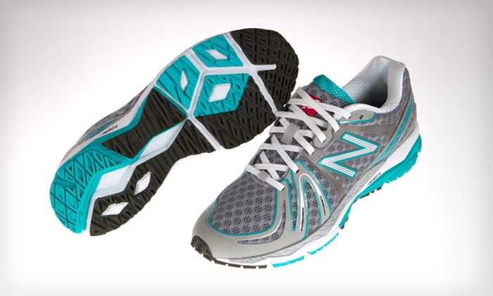 New Balance Women's 890 Sneakers: $69 for New Balance Women's 890 Sneakers in Silver and Teal with Shipping Included ($117.94 Total Value). Five Sizes.