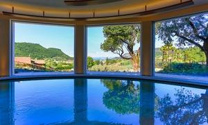 Poiano Resort: Pranzo o cena sul Lago di Garda con Spa e campo da tennis per 2 persone al Poiano Resort (sconto fino a 54%)
