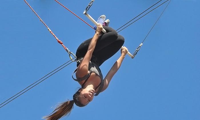 Trapeze School New York - TSNY Los Angeles LLC: $45 for A Flying Trapeze Class at Trapeze School New York ($79 Value)