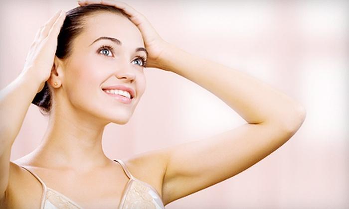 Deja vu Salon & Spa - Suffern: Six Laser Hair-Removal Treatments at Deja vu Salon & Spa in Suffern (Up to 81% Off). Three Options Available.