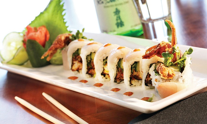 CRAVE American Kitchen & Sushi Bar - Midtown: $15 for $30 Worth of American Fare and Sushi at CRAVE American Kitchen & Sushi Bar (Up to 50% Off)