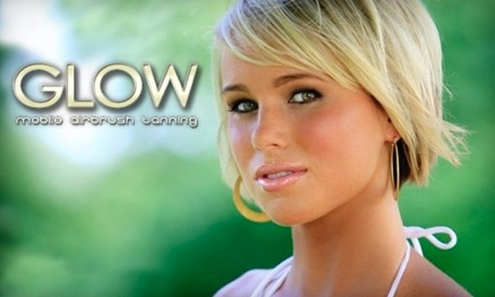 Glow Mobile Airbrush Tanning - Northeast Cobb: $29 for a Full-Body Airbrush-Tanning Session (Up to $65 Value) or $99 for an Airbrush-Tanning Party for Four ($260 Value) from Glow Mobile Airbrush Tanning
