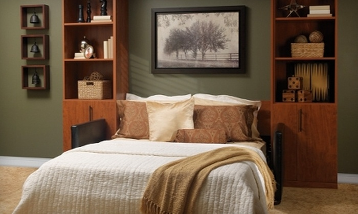 More Space Place - Multiple Locations: $99 for $999 Toward a Murphy Bed at More Space Place