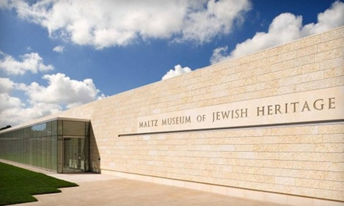 Maltz Museum of Jewish Heritage - Beachwood: Admission to the Maltz Museum of Jewish Heritage in Beachwood. Two Options Available.