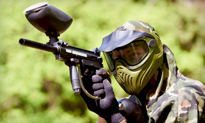 Hot Shots Paintball - Loxahatchee Groves: All-Day Paintball Adventures for 2 or 10 at Hot Shots Paintball in Loxahatchee (Up to 64% Off)