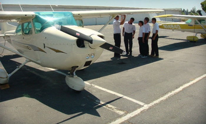 Eagle Aviation - Bowman: $99 for a Discovery Flight for Two from Eagle Aviation ($207.15 Value)