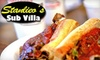Stanlieo's Sub Villa - Multiple Locations: $10 for $20 Worth of Subs, Fries, and Drinks at Stanlieo's Sub Villa