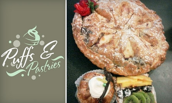 Puffs & Pastries - Hampden: $15 for a Fresh-Baked Pie at Puffs & Pastries ($30 Value)