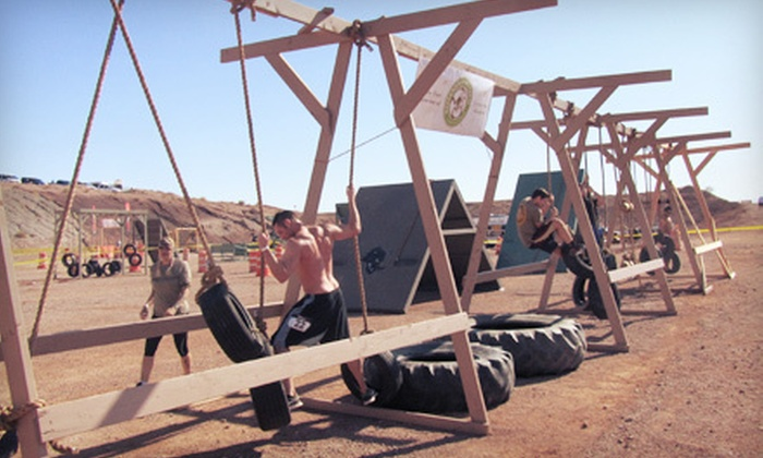 RhinO-Course presented by Boot Camp Las Vegas - Boulder City: $65 for Entry to RhinO-Course Presented by Boot Camp Las Vegas on Saturday, April 28 in Boulder City (Up to $150 Value)