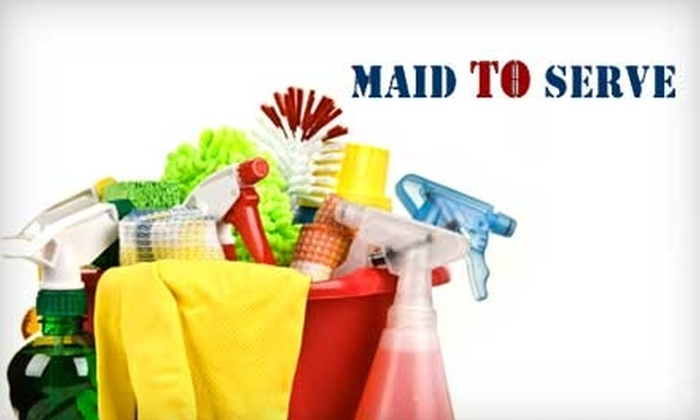 Maid to Serve - Washington DC: $60 for Two Hours of House Cleaning from Maid to Serve (Up to $150 Value)